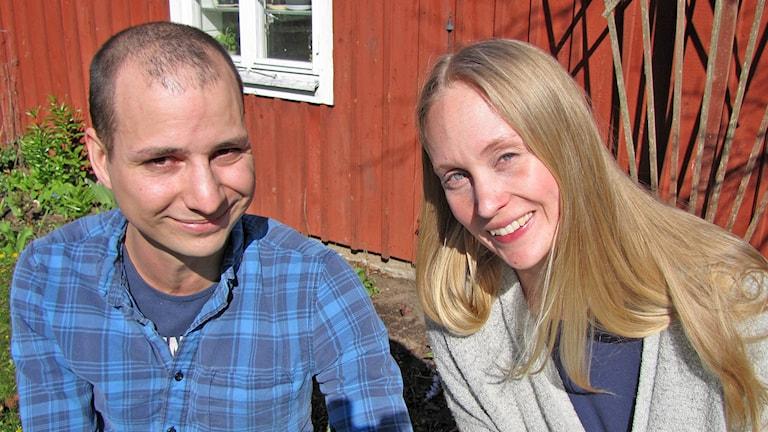 Emil Yttergren och Frida Andreasson.