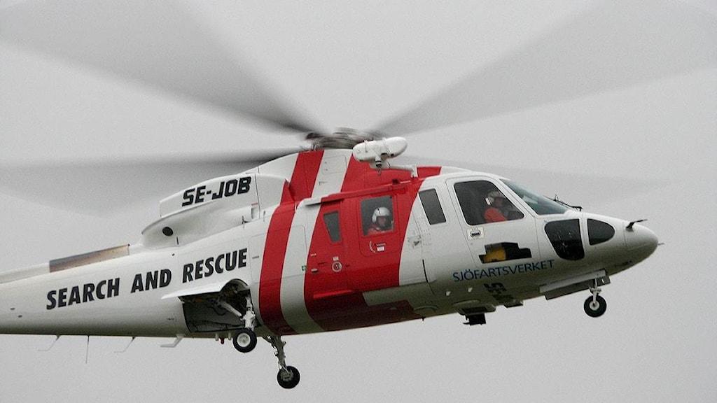 sjöräddningshelikopter