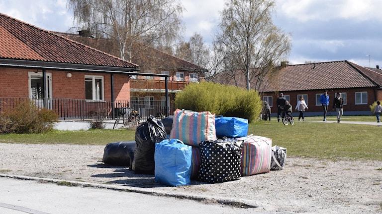 Asylsökande flyttar till Klintehemmet.