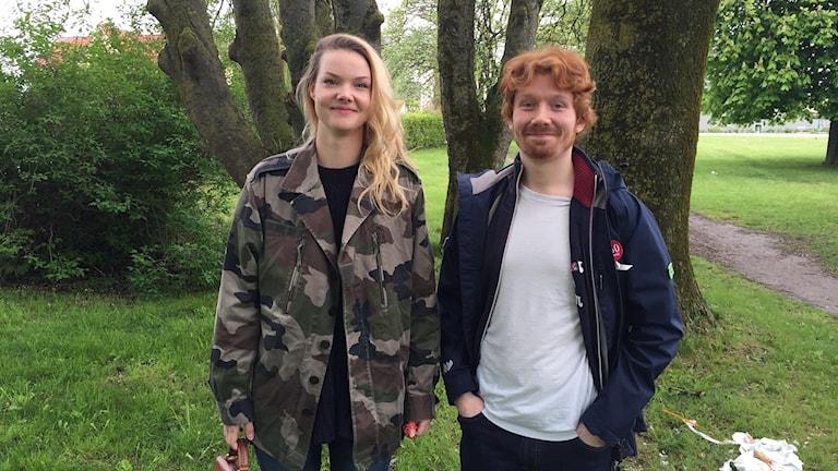 Miriam Engdahl och Henrik Järleblad