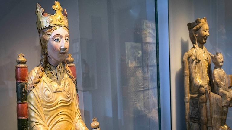 Viklau-madonnan på Historiska Museet i Stockholm