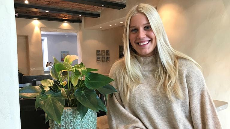 Johanna Peterson spelar i Visby Ladies.