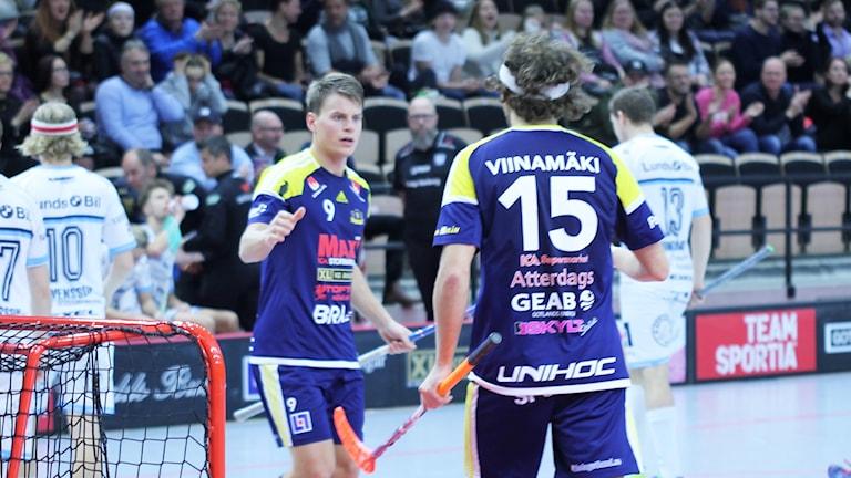 Patrik Jansson och Wilmer Viinamäki, Visby IBK