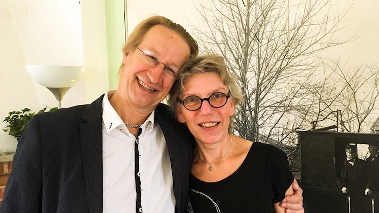 Ove Sahlin och Eva Hejdenberg