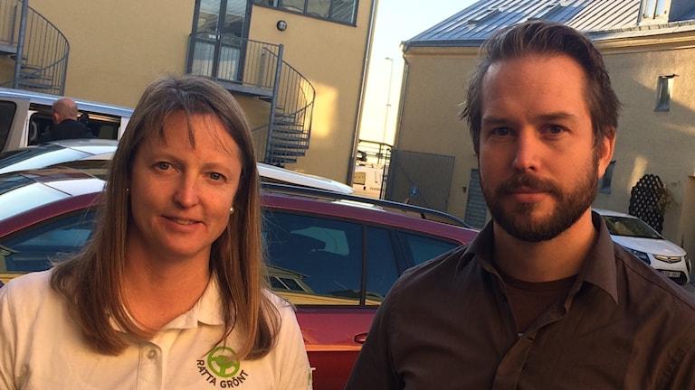 Anna Bäckstäde och David Skoog