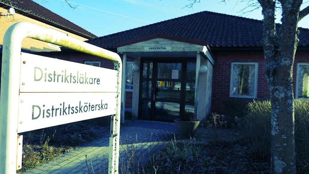 Klintehamns vårdcentral. Foto: Johan Hellström/Sveriges Radio
