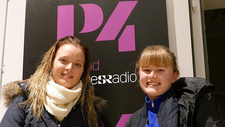 Michelina Nordberg hoppryttare i Traume ridsällskap och Bella Nilsson fotbollspelare i Dalhem