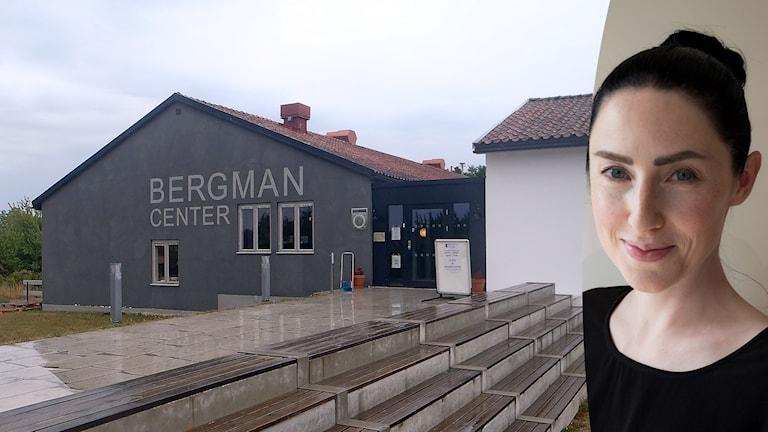 Bergmancenter och Emma Gray Munthe, projektledare för Bergmanveckan