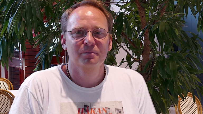 Erik Wennström, SO-läraren på Södervärnsskolan i Visby.
