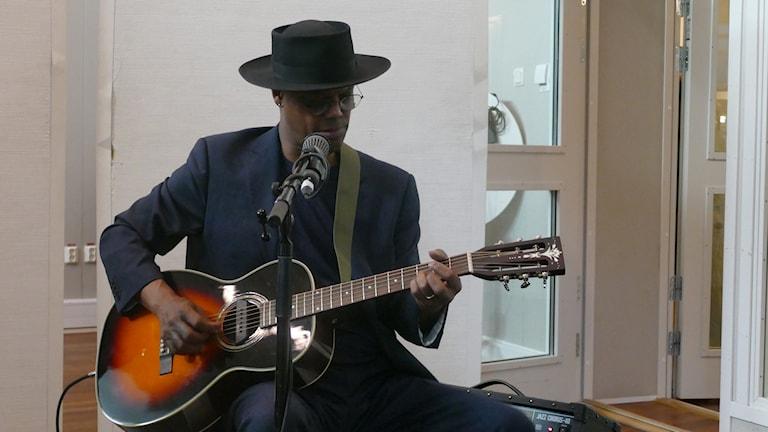 Bluesartisten live i p4 gotland 20180202