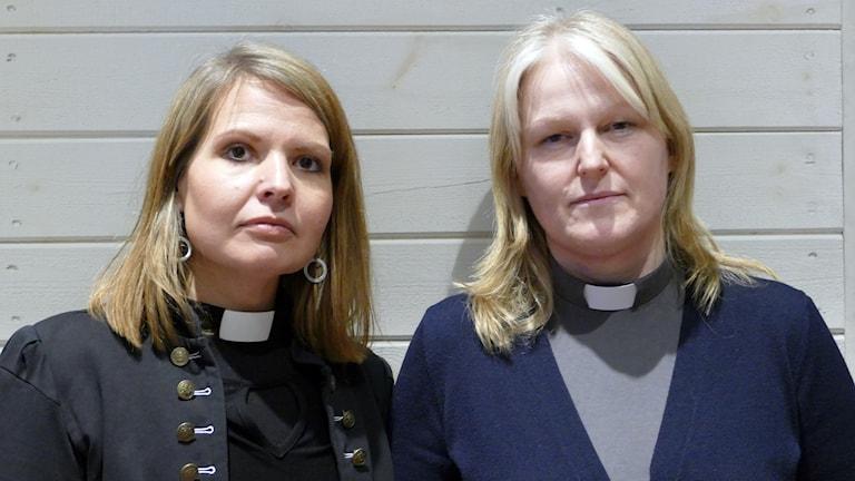 Elisabeth Sjölander och Karen Holm