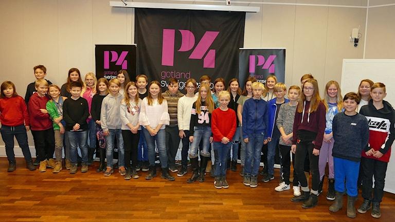 De tävlande i Vi i femman i P4 Gotland 2018