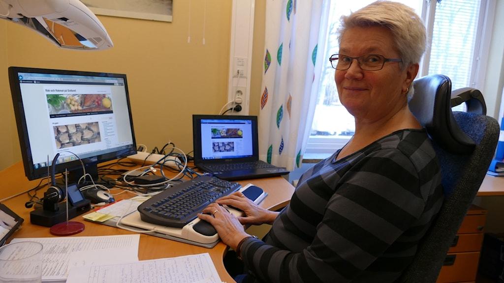 Riina Noodapera, Hushållningssällskapet Gotland. Foto: Johan Hellström/Sveriges Radio