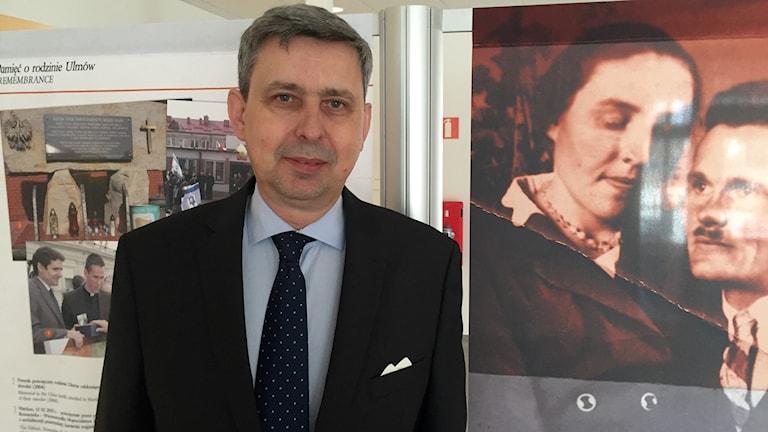 Wieslaw Tarka. Polens ambassadör