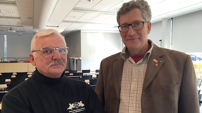 Ola Björkqvist och Peter Barnard