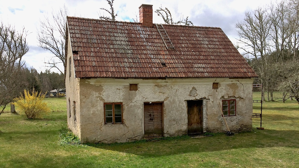 Familjen Liljegren-Björks renoveringsobjekt.
