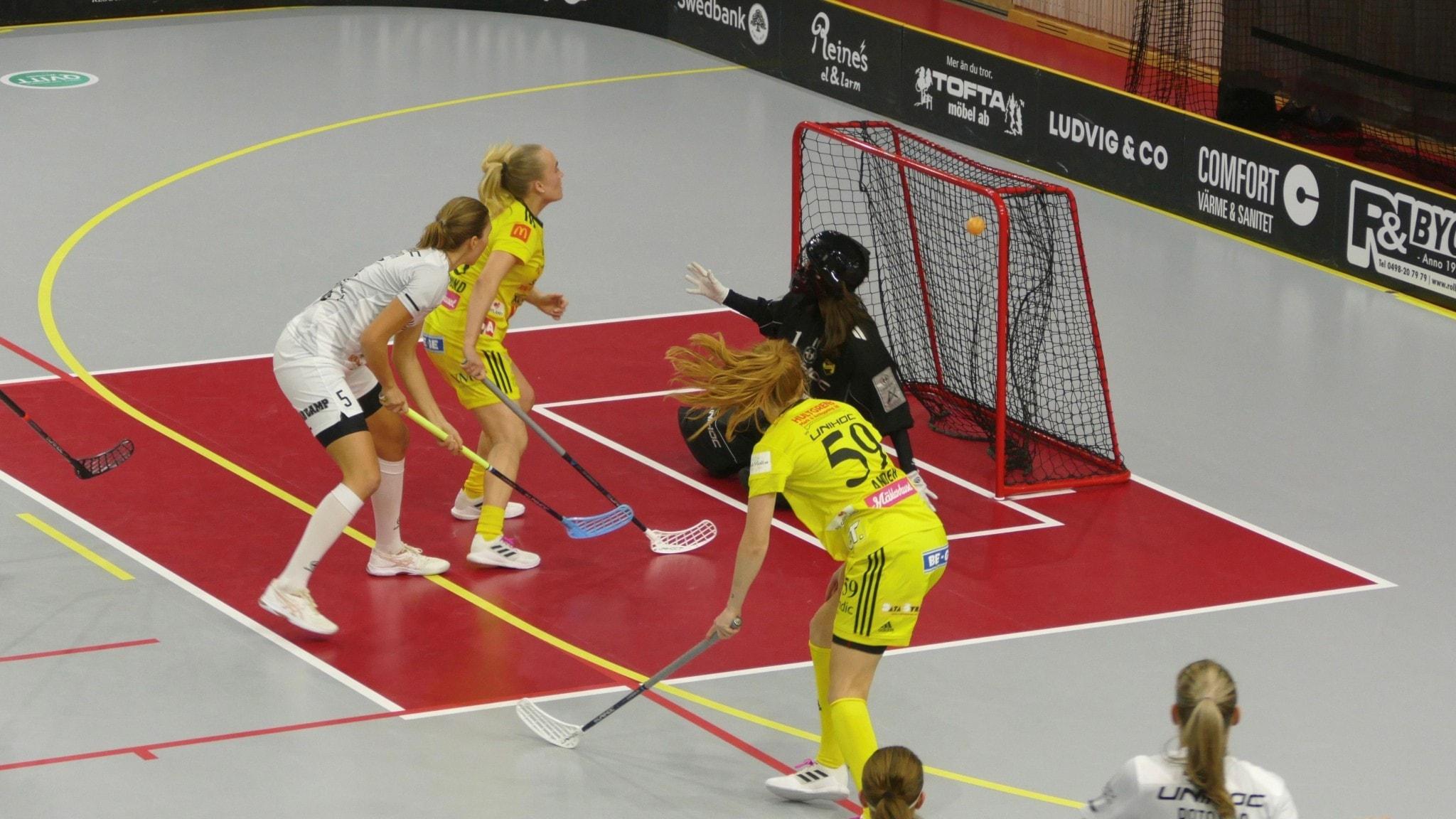 Brakförlust för Endre i första semifinalen i Svenska Cupen