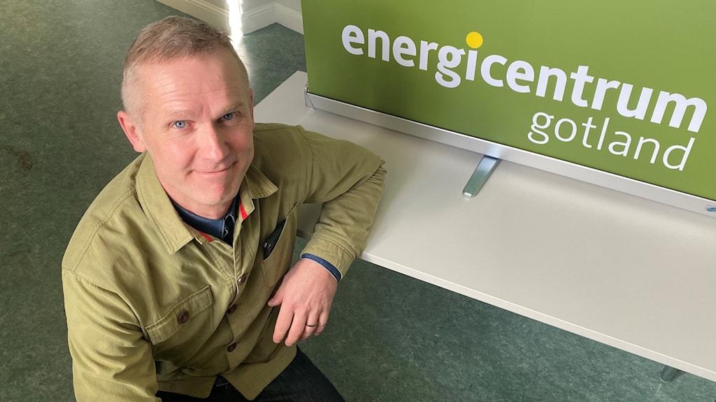 Patrick Dahl verksamhetsledare Energicentrum Gotland