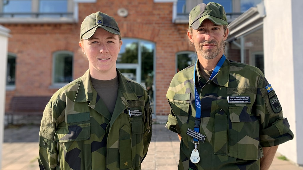 Adina Engqvist och Tomas Ängshammar.