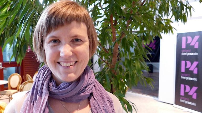 Sara Lidqvist, Kristdemokraterna på Gotland.