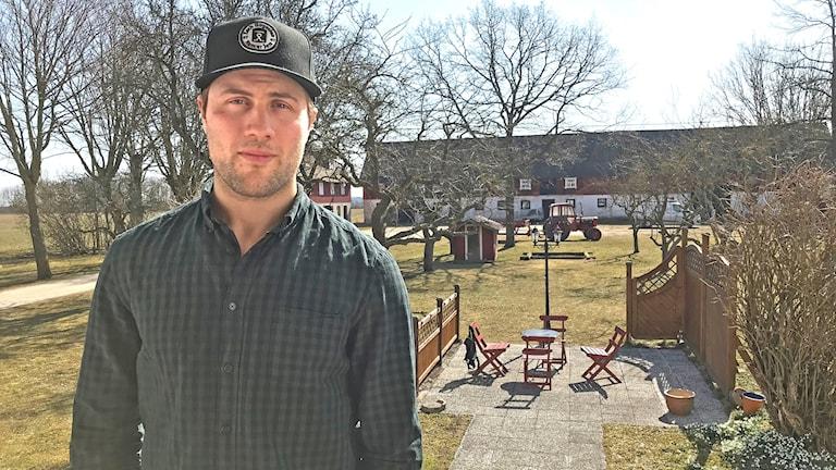 Johan Larsson spelar till vardags i Buffalo Sabres i NHL och ska nu även spela hockey-vm 2018.