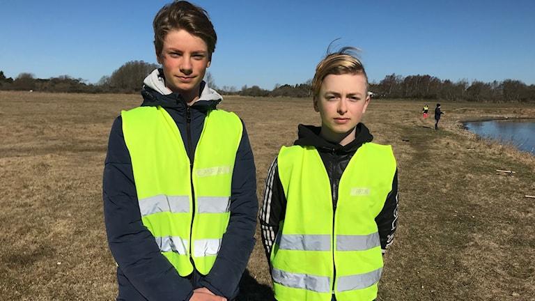 Kasbian Bengtsson och Aron Jäger
