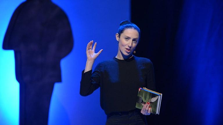 Emma Gray Munthe om de nominerade till årets svenska fackbok vid augustpriset 2015.