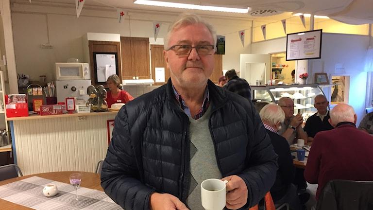 Curt Broberg är vice ordförande i Norra Gotlands Pastorat.