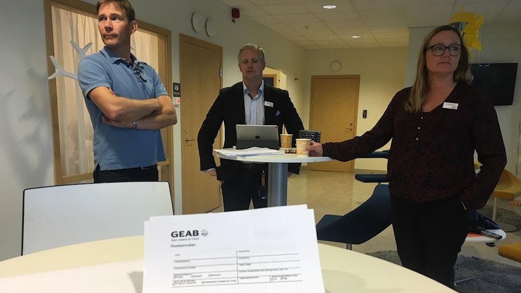 Geab väntar på missnöjda företagare