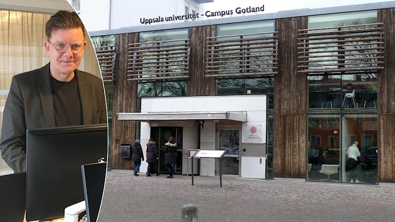 Olle Jansson, rektorsråd Uppsala Universitet Campus Gotland.