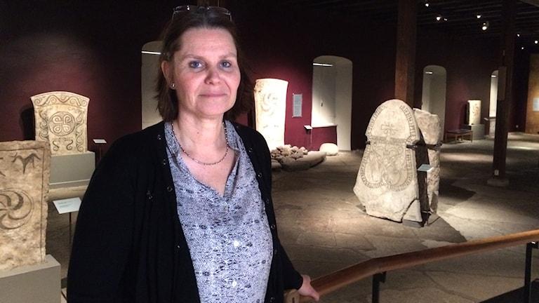 Chef på Gotlands museum.