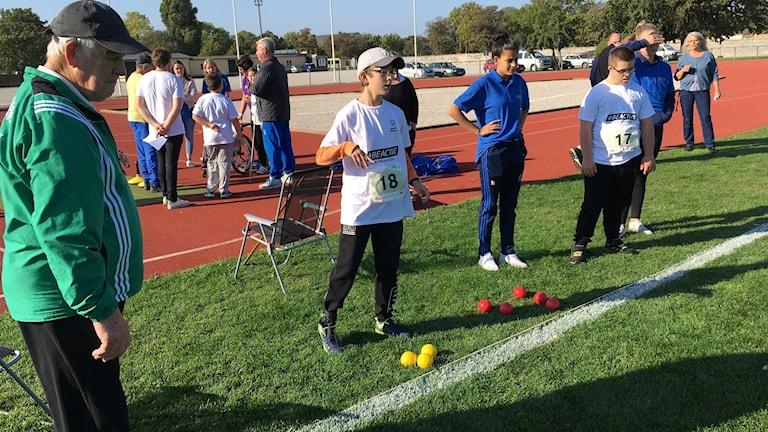 Elever på särskolan testar idrott