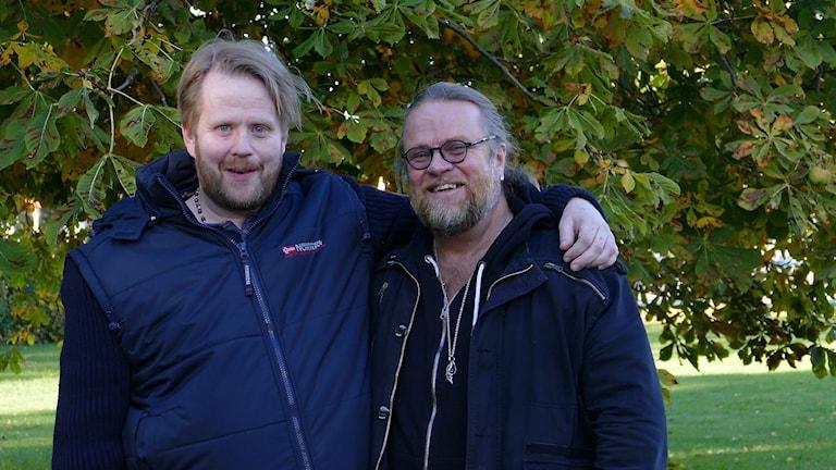 Jonas Andersson och Per Lifvergren