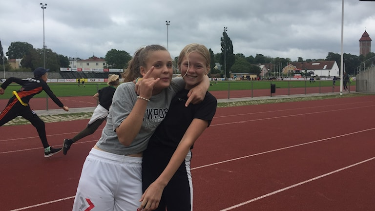 Engla Havdell och Harriet Loré Sundblad, Atheneskolan i Visby