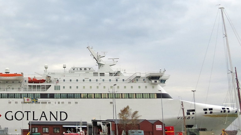 Destination Gotlands m/s Visby. Foto: Mika Koskelainen/Sveriges Radio
