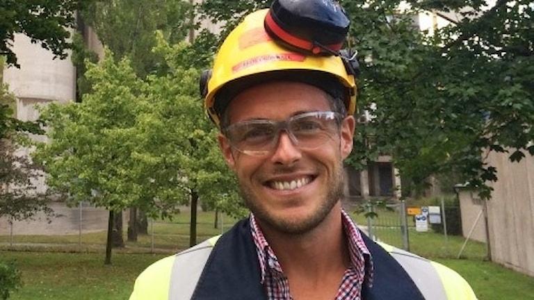 Fred Grönwall blir ny Cementa-chef i Slite. Foto: Cementa