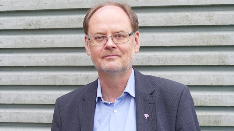 Clas Svahn, vice ordförande i UFO Sverige.