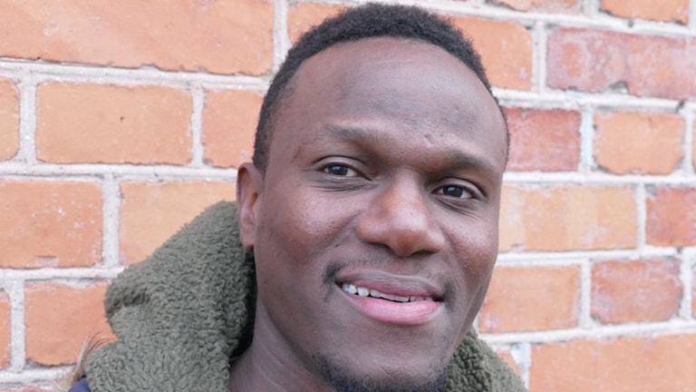 Robert Mambo Mumba. Foto: Mika Koskelainen/Sveriges Radio