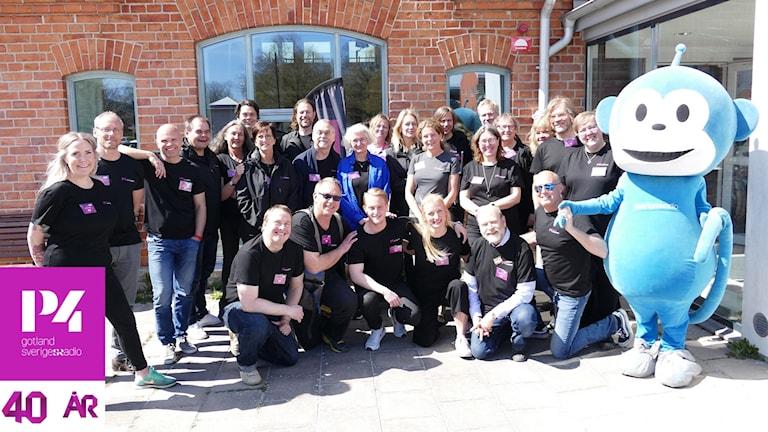 De som var med på P4 Gotlands öppna hus