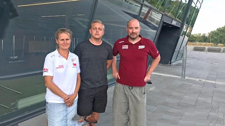 Mariie Söderberg, Alexander Brinkmann, Anders Leo Pettersson