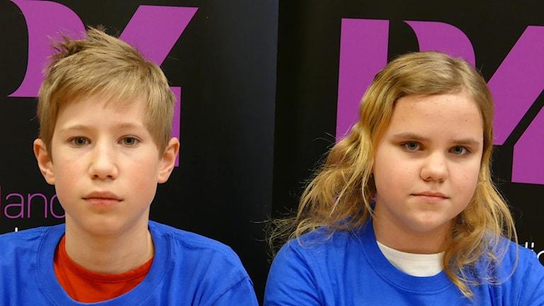 Fårösundsskolan: Ingemar Lindell och Anneli Bengtsson