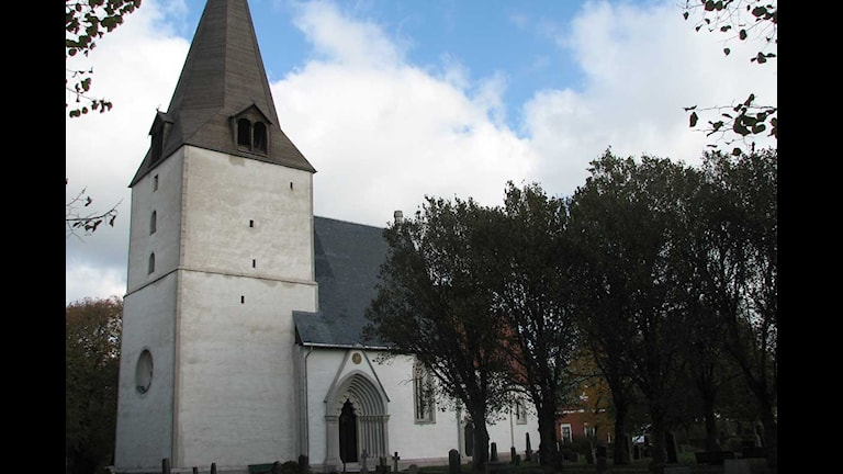 Barlingbo kyrka. Foto: Mari Winarve/SR Gotland