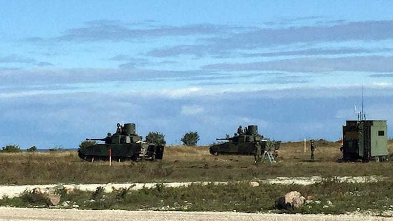 Luftvärnskanonvagnar