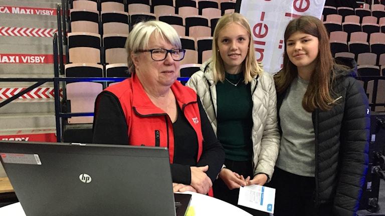 Region Gotlands studie- och yrkesmässa, valet till gymnasiet.