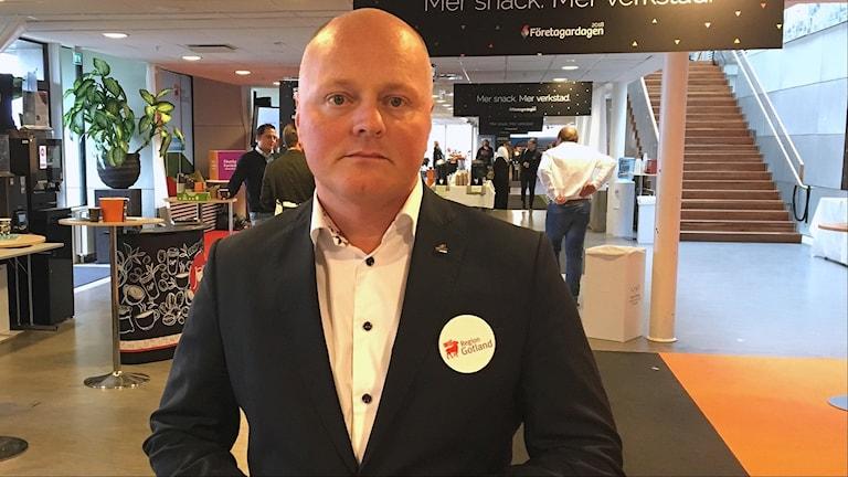 Regiondirektör Peter Lindvall