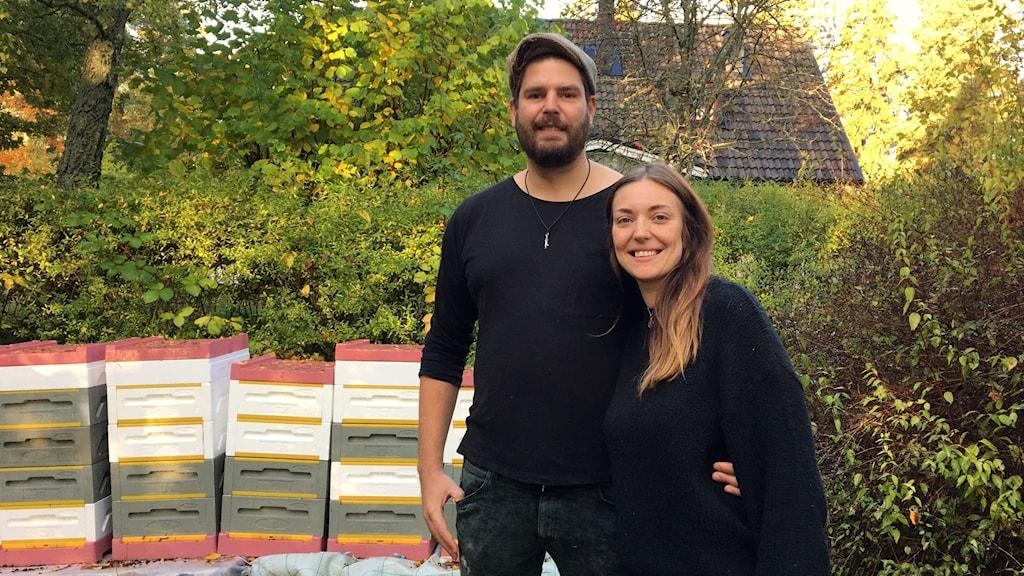 Gustaf Persson och Linnéa Kindvall hittade både sig själva och varandra på Gotland.
