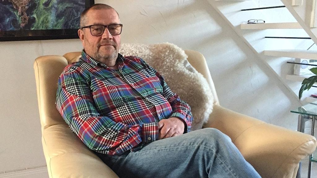 Moderaten Roger Wärn, Stånga. Föreslås bli ny ordförande för Gotlandshem.