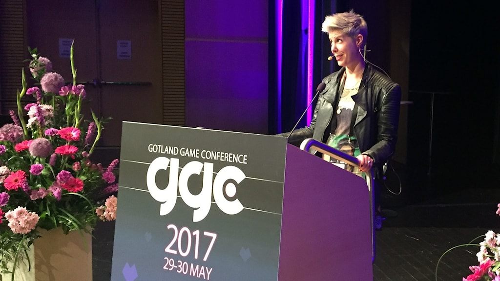 Doris C Rusch föreläser på Gotland Game Conference