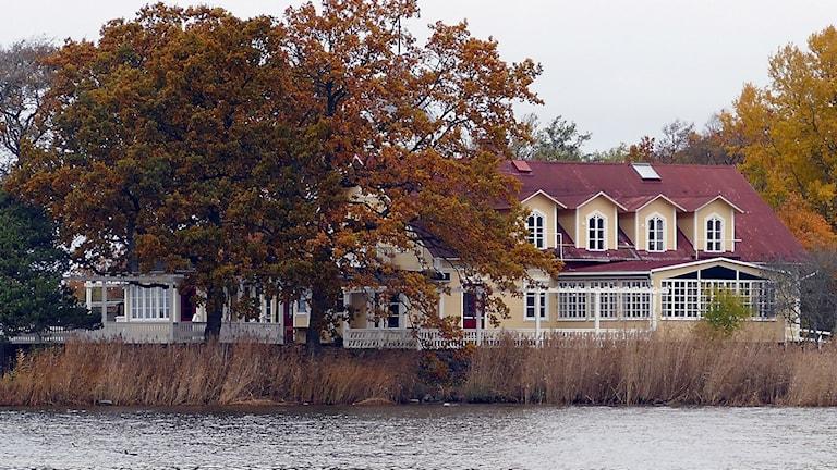 Pensionat Warfsholm i Klintehamn