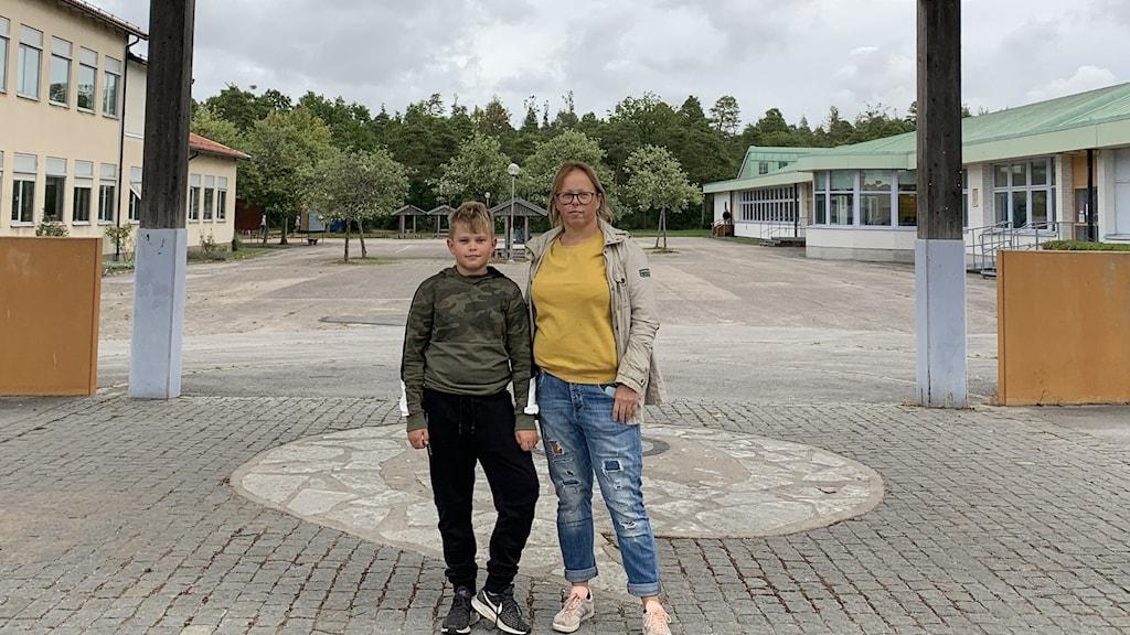 Viktor Sandqvist och Lilian Pettersson.